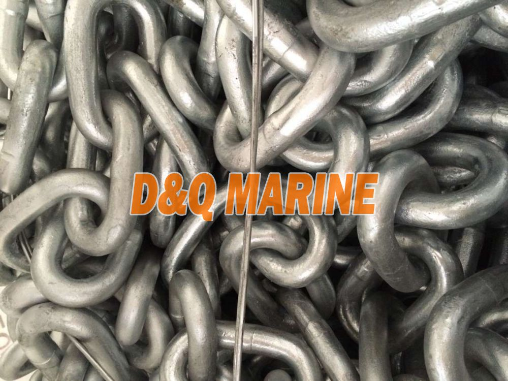 Grade 2 28mm Hot Dip Galvanized Stud Link Anchor Chain