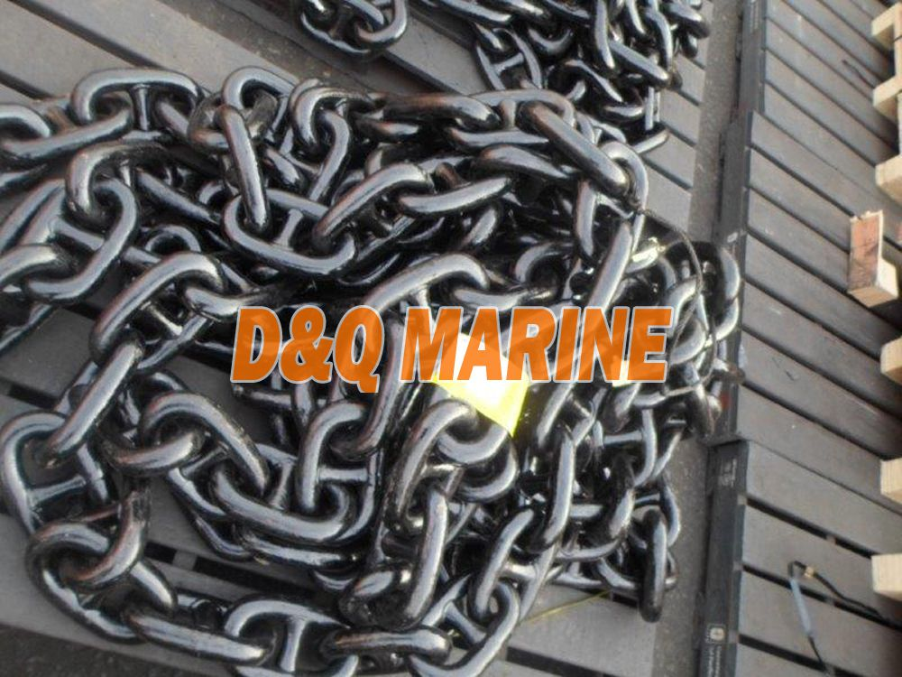 Grade 3 38mm Stud Link Anchor Chain