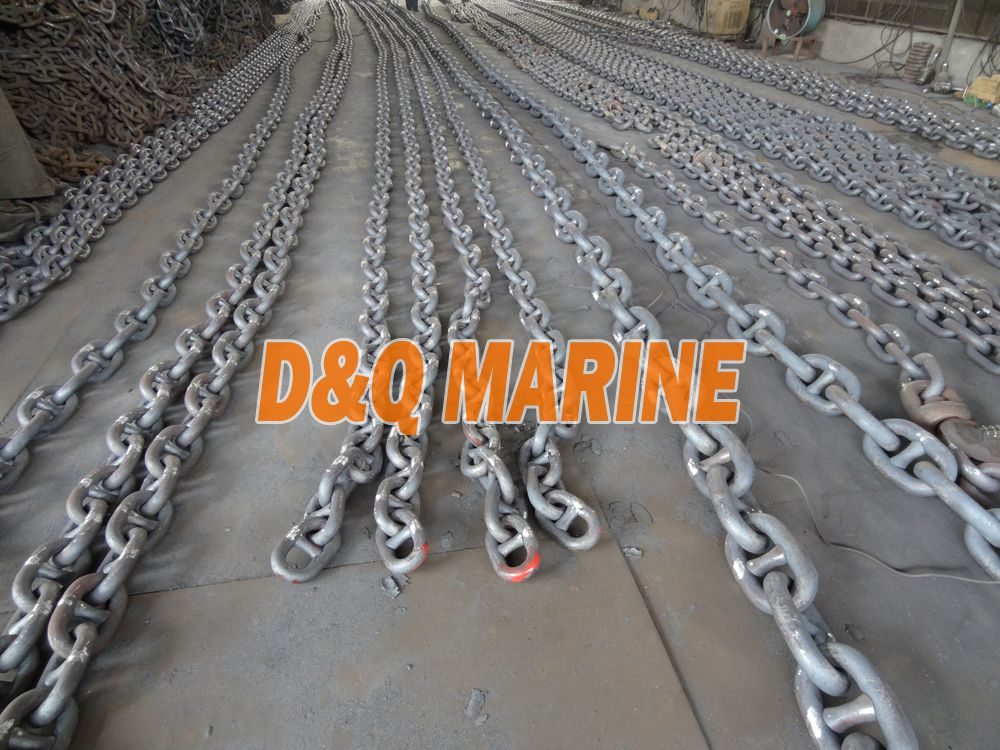 Grade 3 50mm Stud Link Anchor Chain