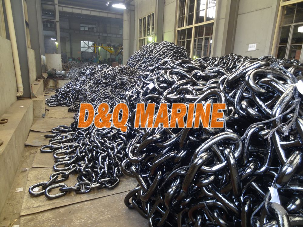 Grade 3 52mm Stud Link Anchor Chain