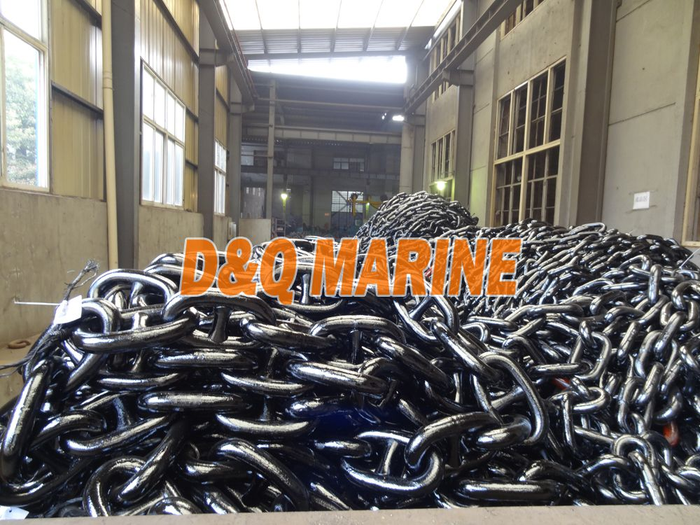 Grade 3 54mm Stud Link Anchor Chain