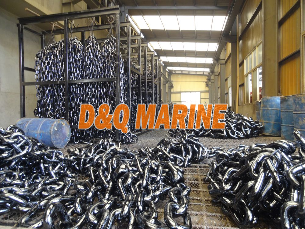 Grade 3 58mm Stud Link Anchor Chain