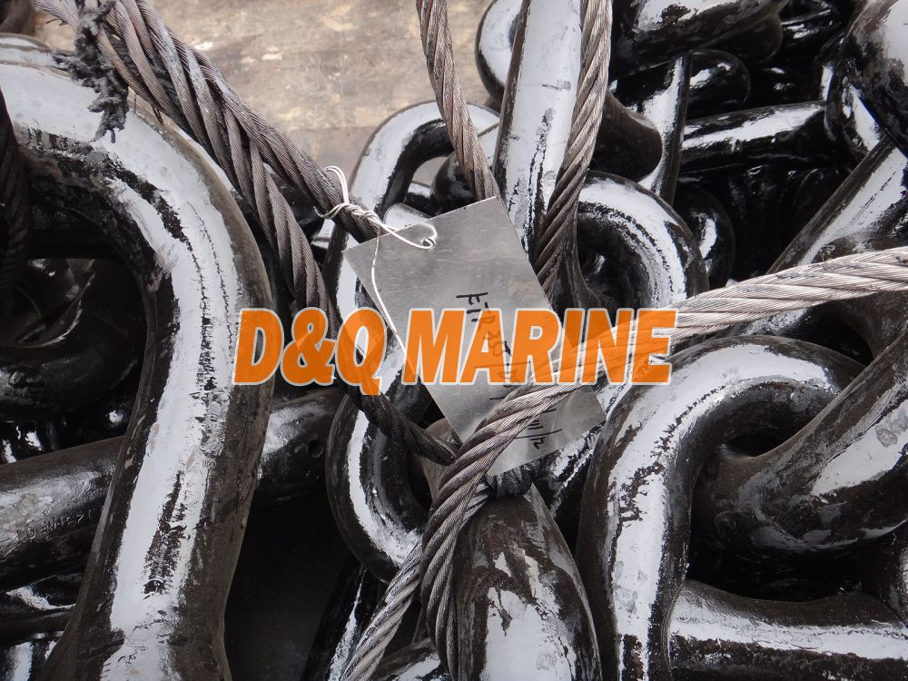 Grade 3 60mm Stud Link Anchor Chain