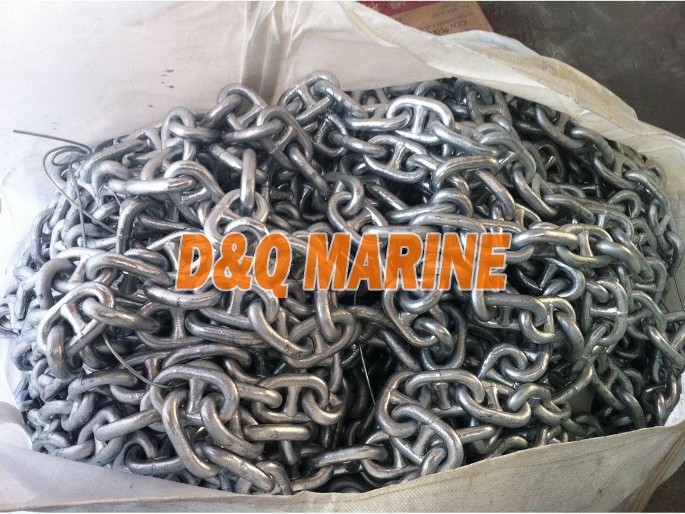 17 5mm Grade 2 Stud Link Anchor Chain China 17 5mm Grade