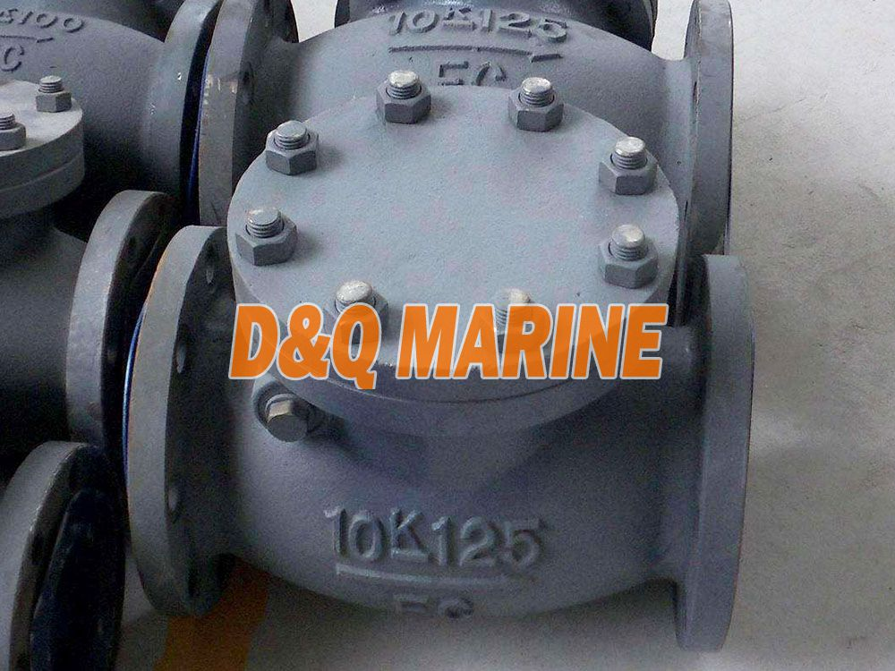 Marine Cast Iron 10K Swing Check Valve JIS F7373