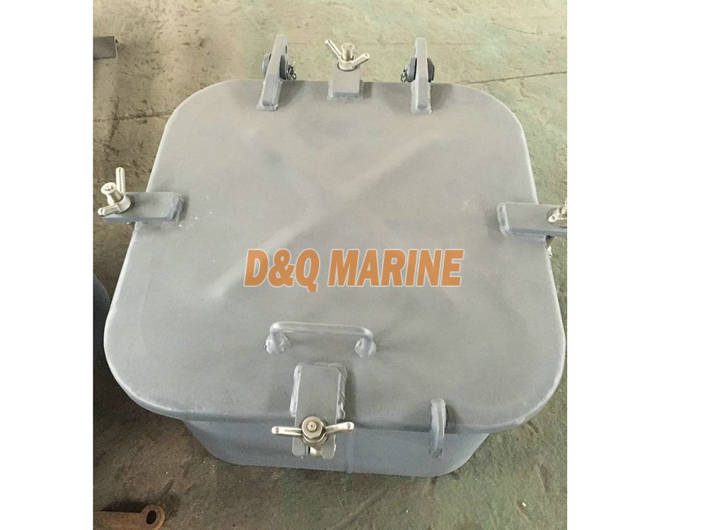 Marine steel small size hatch cover