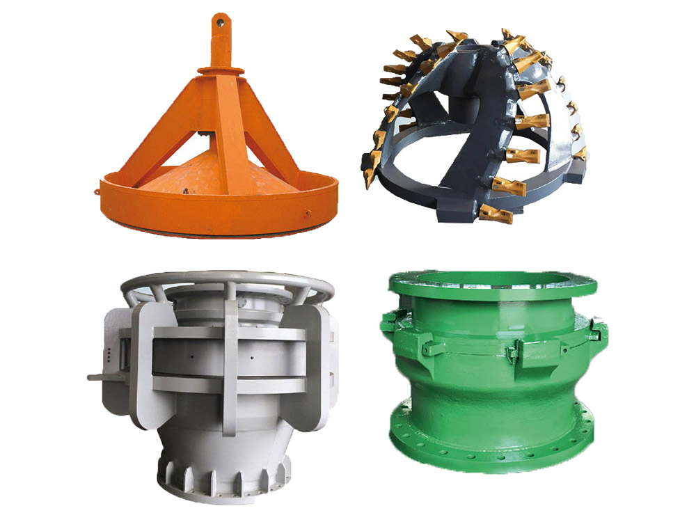 Dredger Cutter Head and Accessories