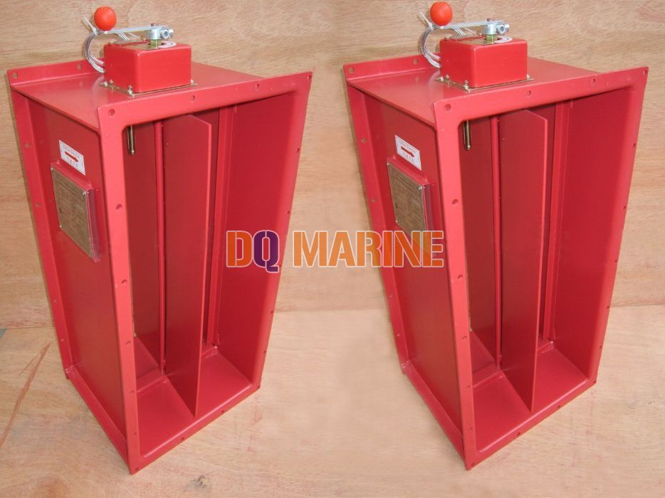 Rectangular Manual Fire Damper