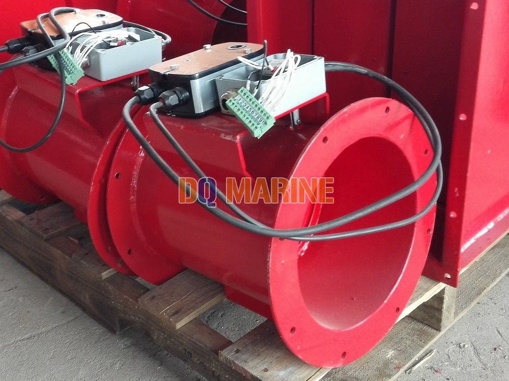 Circular Electric Fire Damper