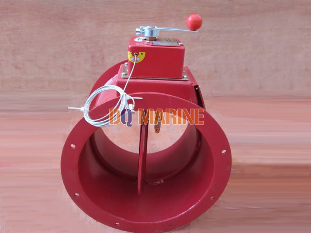 Round Manual Fire Damper