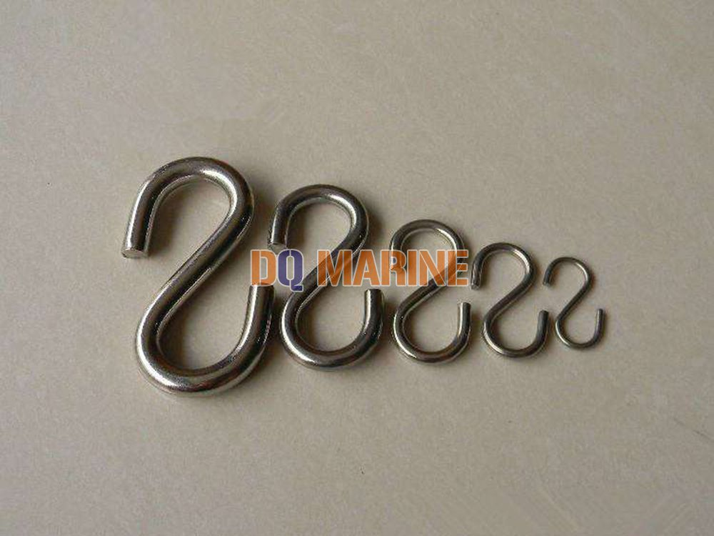 Stainless Steel S Hook