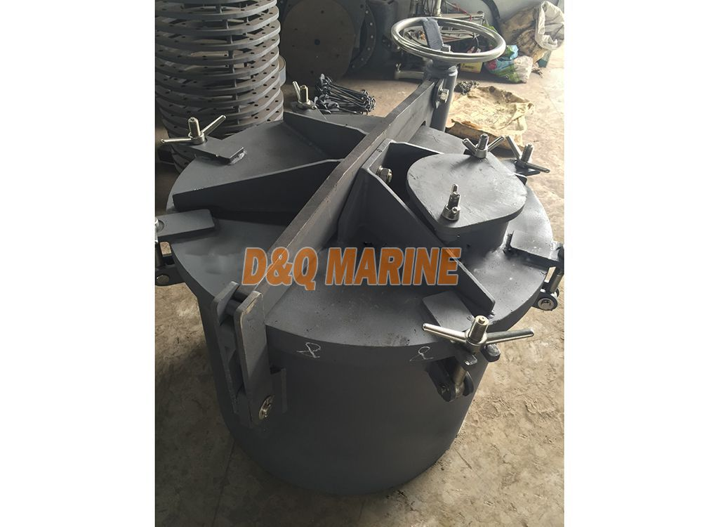 Type A circle rotating oil tight hatch cover
