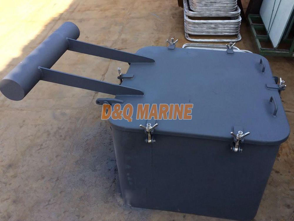 Type A steel small size hatch cover