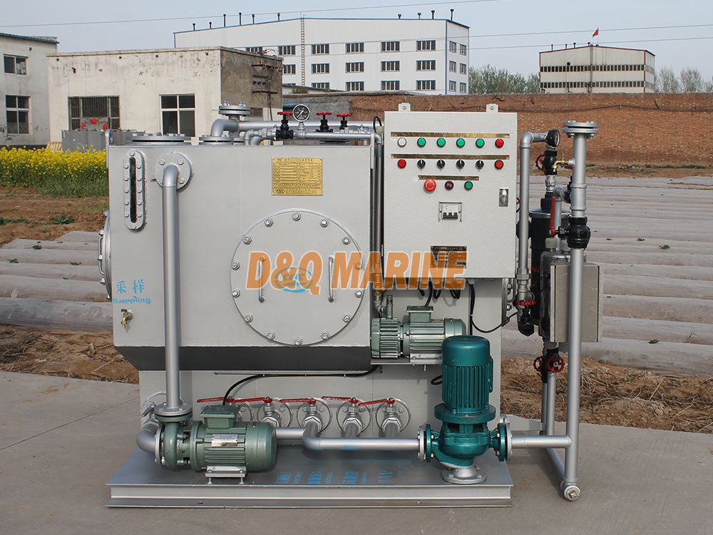 WCMBR-10 Marine Sewage Treatment Plant