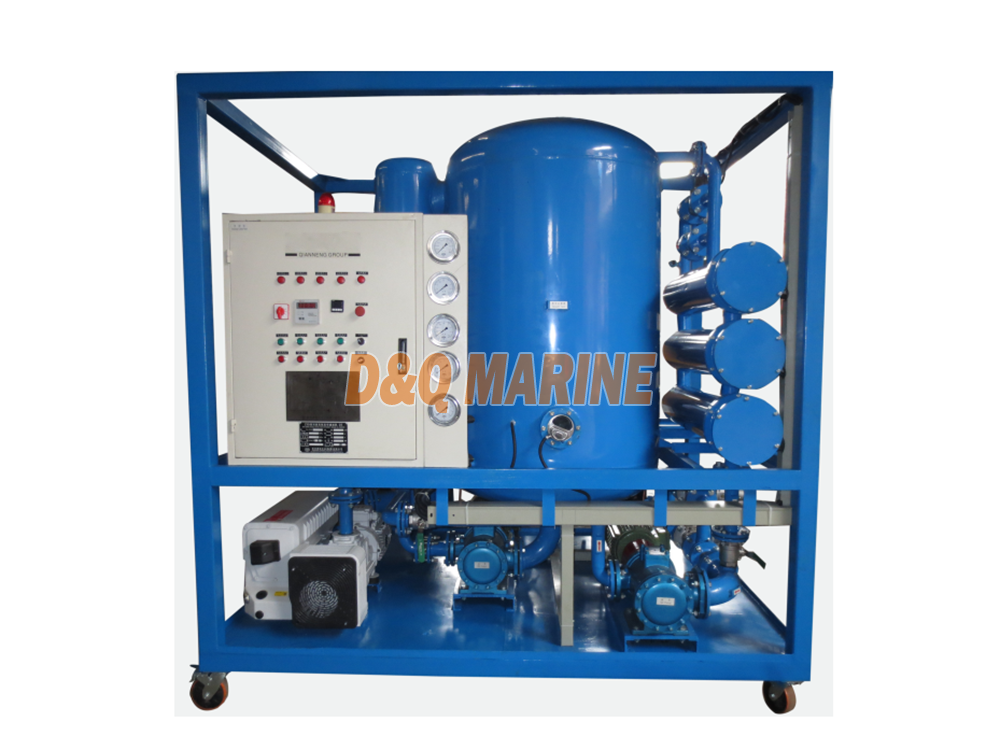 ZJA Series Super HV Double Stage Transformer Oil Purifier