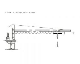 16T Electric Hoist Crane
