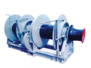 35T Hydraulic Double Drum Mooring Winch