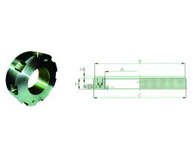 HNBF Series hydraulic nut