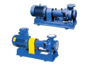 IHF Series Marine Fluoroplastic Lined Centrifugal Pump
