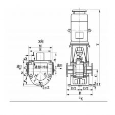 LYB30 LYB vertical arc gear pump