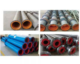 Polyurethane Rubber Lined Pipes